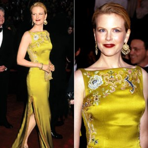 Nicole Kidman in Christian Dior Haute Couture at the 1997 Academy Awards