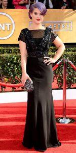 Kelly Osbourne in Jenny Packham