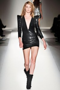 Balmain Fall 2009 Look 37Worn by Angela Lindvall