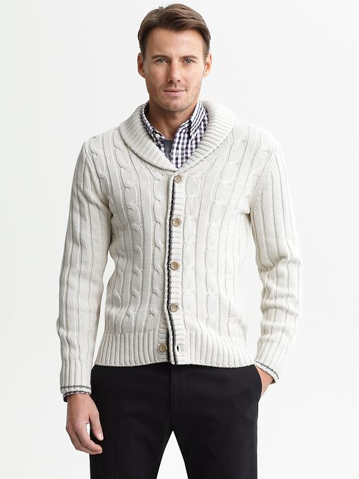 Look for Less: Men's Cable-Knit Cardigans – Gavo Capote's World