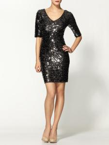 BCBG Max Azria V-Neck Sequin Dress$238.00