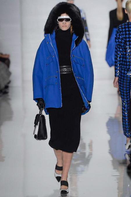 Michael Kors, Fall 2013, Look 17- Ski Parka