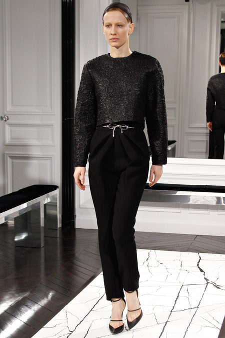 Balenciaga by Alexander Wang, Fall 2013, Look 10