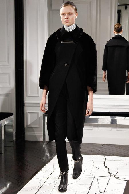 Balenciaga by Alexander Wang, Fall 2013, Look 1