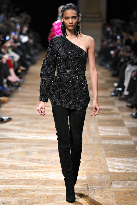 Balmain, Fall 2013, Look 12
