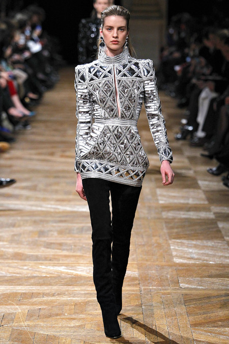 Balmain, Fall 2013, Look 15