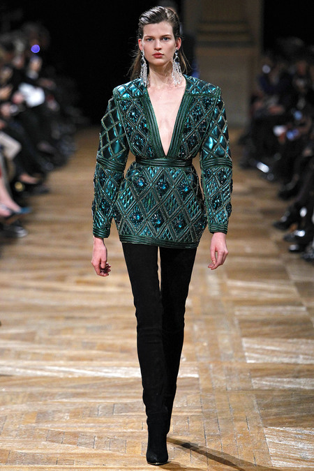 Balmain, Fall 2013, Look 19