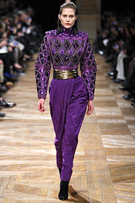 Balmain, Fall 2013, Look 36