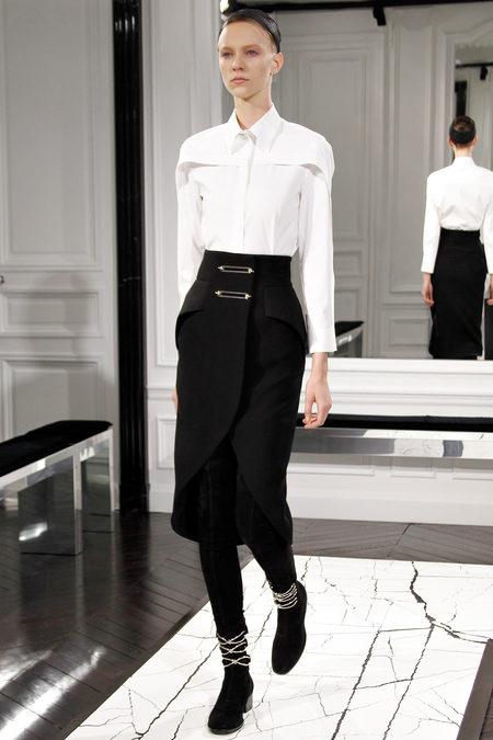 Balenciaga by Alexander Wang, Fall 2013, Look 5
