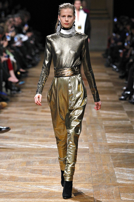 Balmain, Fall 2013, Look 6