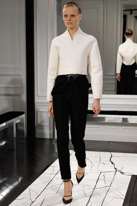 Balenciaga by Alexander Wang, Fall 2013, Look 9