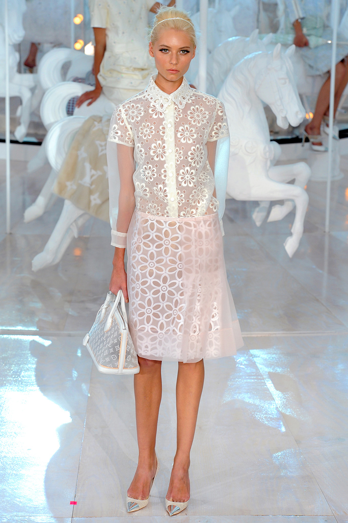 Louis Vuitton, Spring 2012, Look 2