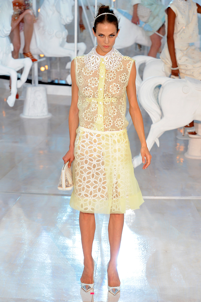 Louis Vuitton, Spring 2012, Look 3