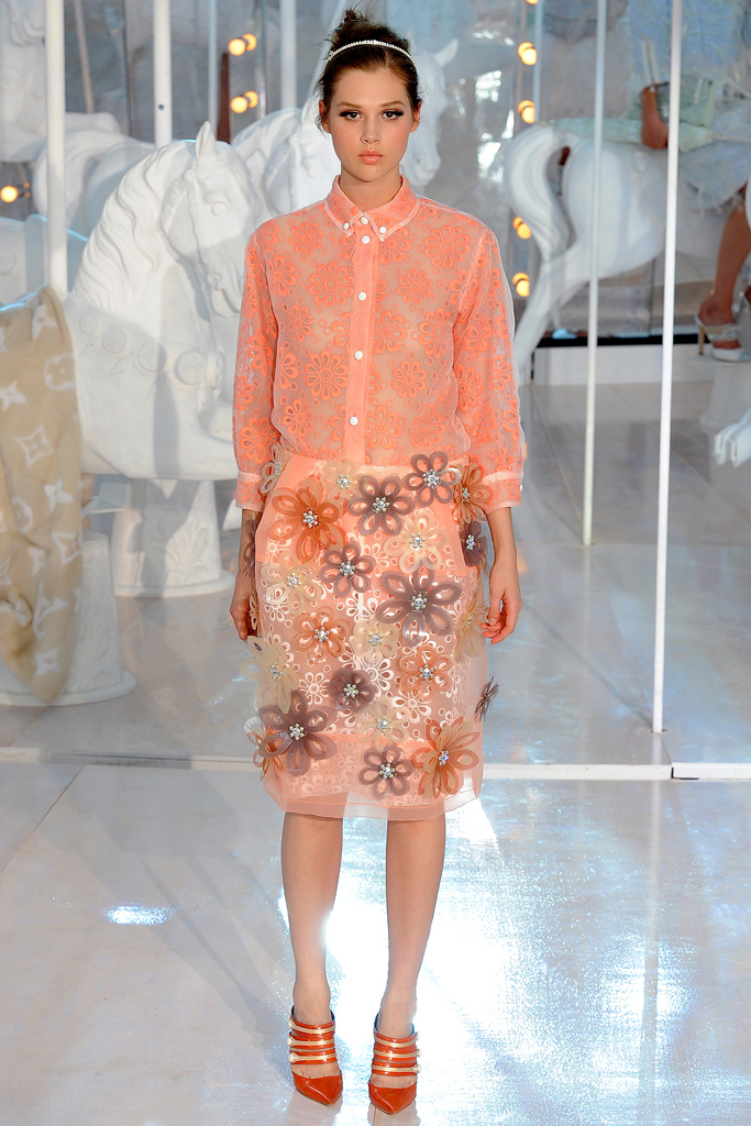 Louis Vuitton, Spring 2012, Look 34