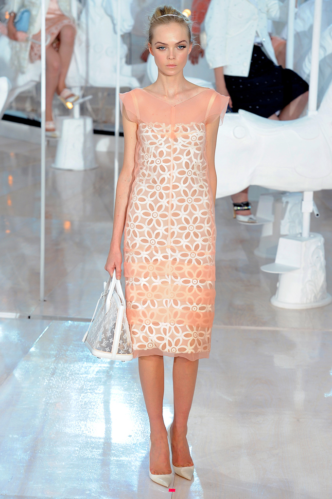 Louis Vuitton, Spring 2012, Look 4