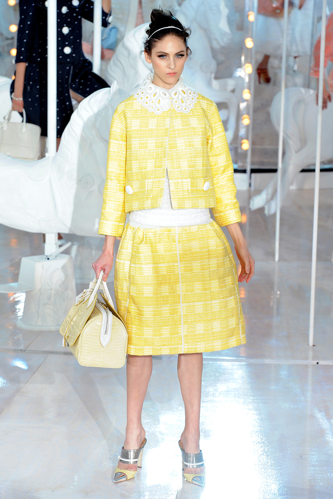 Louis Vuitton, Spring 2012, Look 5