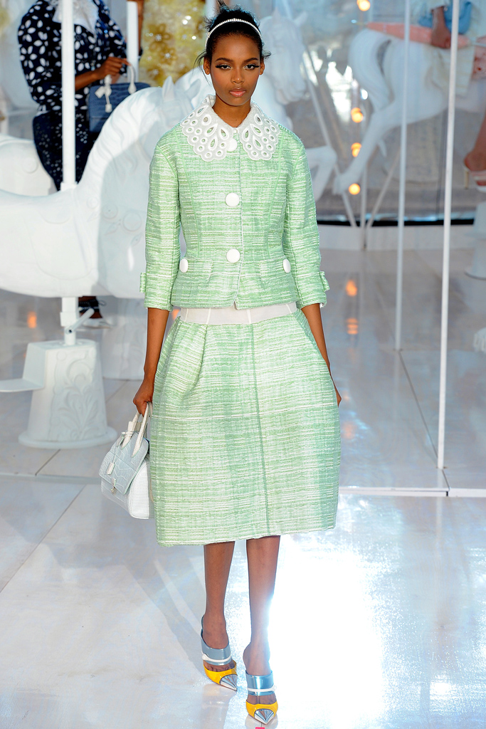Louis Vuitton, Spring 2012, Look 6