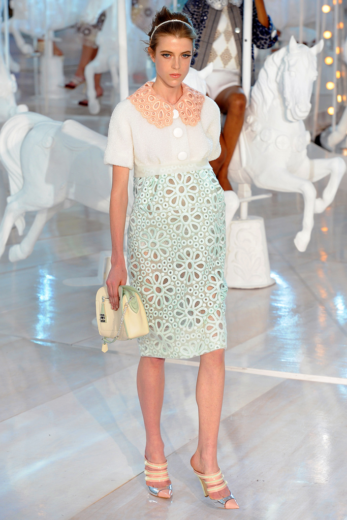Louis Vuitton, Spring 2012, Look 8
