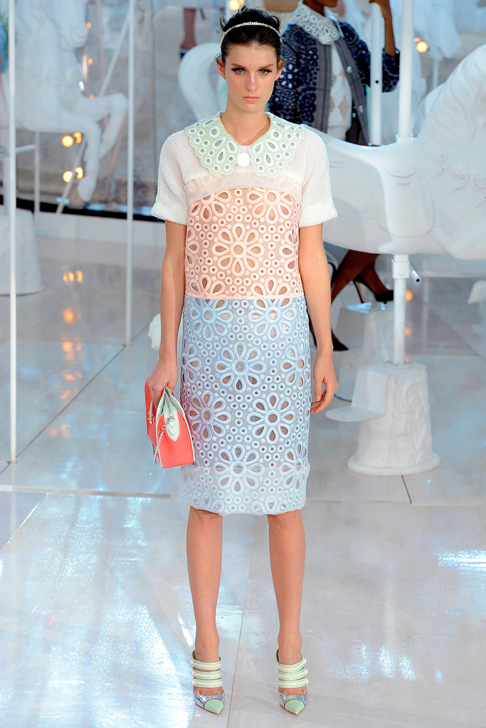 Louis Vuitton, Spring 2012, Look 9