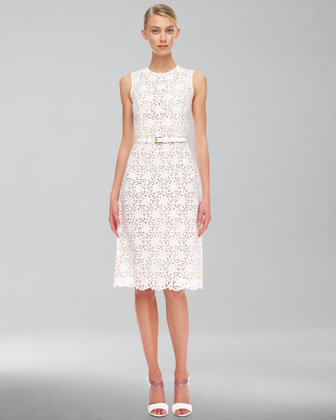 Michael Kors Sleeve Eyelet Dress $3,595.00