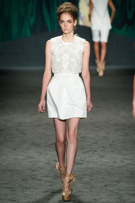 Vera Wang, Spring 2013, Look 6