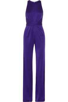 Issa Silk Jersey Jumpsuit-$795