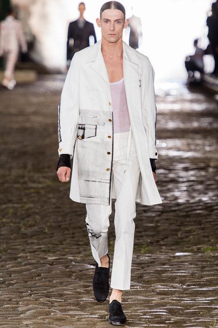 Alexander McQueen, Spring 2014, Look 12