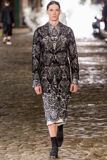 Alexander McQueen, Spring 2014, Look 15