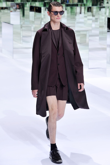 Dior Homme, Spring 2014, Look 12 Photo: Yannis Viamos/InDigital/GoRunway found on www.style.com