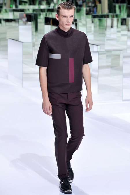 Dior Homme, Spring 2014, Look 14 Photo: Yannis Viamos/InDigital/GoRunway found on www.style.com