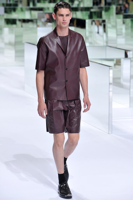 Dior Homme, Spring 2014, Look 16 Photo: Yannis Viamos/InDigital/GoRunway found on www.style.com
