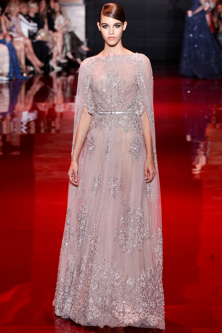Elie Saab, Fall 2013 Haute Couture, Look 16  Photo: Marcus Tondo/InDigital/GoRunway found on www.style.com