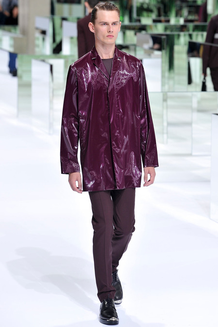 Dior Homme, Spring 2014, Look 21  Photo: Yannis Viamos/InDigital/GoRunway found on www.style.com