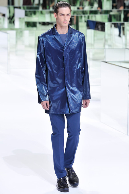 Dior Homme, Spring 2014, Look 22 Photo: Yannis Viamos/InDigital/GoRunway found on www.style.com