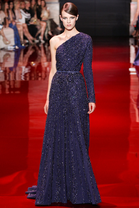Elie Saab, Fall 2013 Haute Couture, Look 22  Photo: Marcus Tondo/InDigital/GoRunway found on www.style.com
