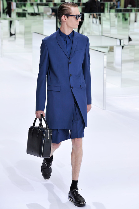 Dior Homme, Spring 2014, Look 24 Photo: Yannis Viamos/InDigital/GoRunway found on www.style.com