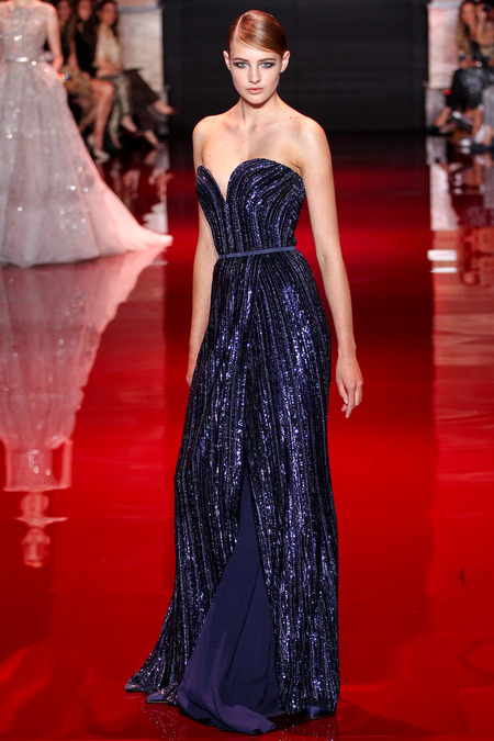Elie Saab, Fall 2013 Haute Couture, Look 24  Photo: Marcus Tondo/InDigital/GoRunway found on www.style.com