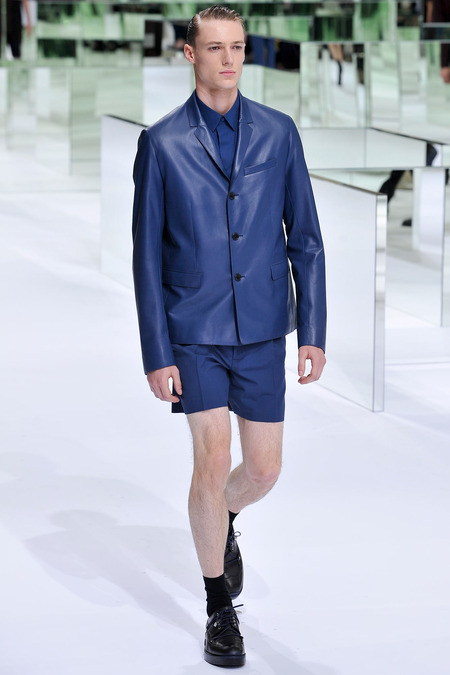 Dior Homme, Spring 2014, Look 27 Photo: Yannis Viamos/InDigital/GoRunway found on www.style.com