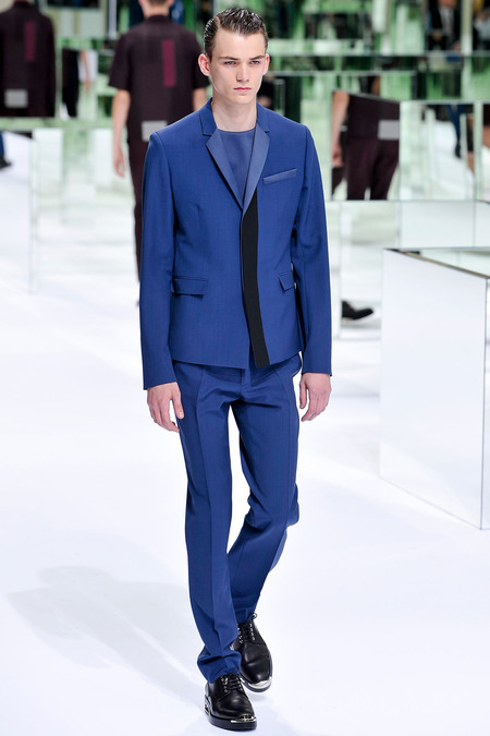 Dior Homme, Spring 2014, Look 28 Photo: Yannis Viamos/InDigital/GoRunway found on www.style.com