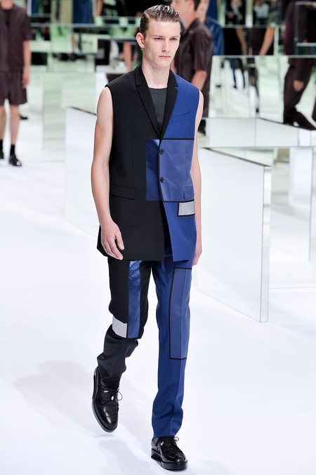 Dior Homme, Spring 2014, Look 30 Photo: Yannis Viamos/InDigital/GoRunway found on www.style.com