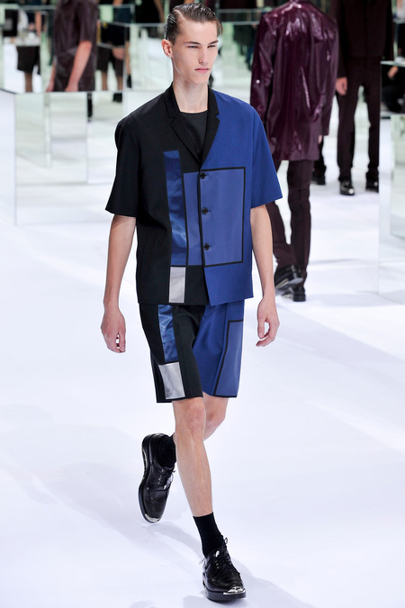 Dior Homme, Spring 2014, Look 32 Photo: Yannis Viamos/InDigital/GoRunway found on www.style.com