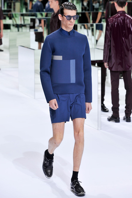 Dior Homme, Spring 2014, Look 33 Photo: Yannis Viamos/InDigital/GoRunway found on www.style.com