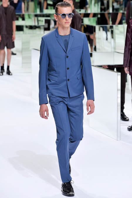 Dior Homme, Spring 2014, Look 36 Photo: Yannis Viamos/InDigital/GoRunway found on www.style.com