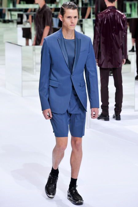 Dior Homme, Spring 2014, Look 38 Photo: Yannis Viamos/InDigital/GoRunway found on www.style.com