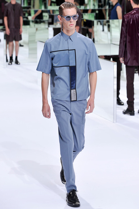 Dior Homme, Spring 2014, Look 39 Photo: Yannis Viamos/InDigital/GoRunway found on www.style.com