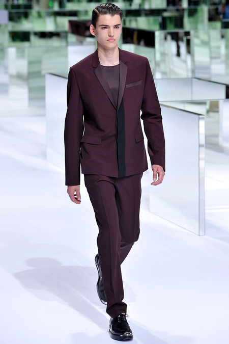 Dior Homme, Spring 2014, Look 4 Photo: Yannis Viamos/InDigital/GoRunway found on www.style.com