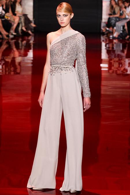 Elie Saab, Fall 2013 Haute Couture, Look 41  Photo: Marcus Tondo/InDigital/GoRunway found on www.style.com