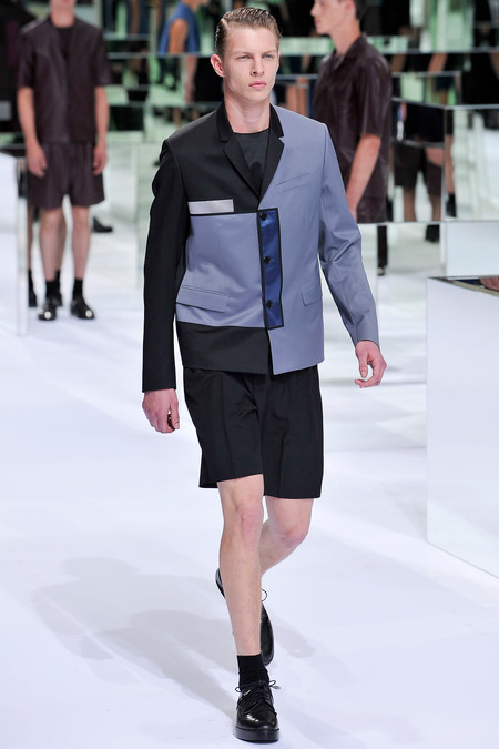 Dior Homme, Spring 2014, Look 42 Photo: Yannis Viamos/InDigital/GoRunway found on www.style.com