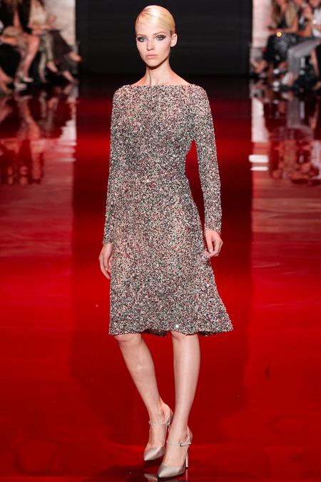 Elie Saab, Fall 2013 Haute Couture, Look 42  Photo: Marcus Tondo/InDigital/GoRunway found on www.style.com