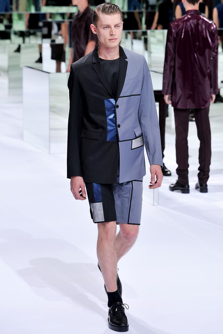 Dior Homme, Spring 2014, Look 43 Photo: Yannis Viamos/InDigital/GoRunway found on www.style.com